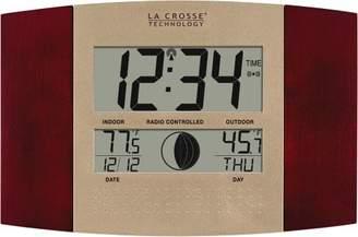 La Crosse Technology WS-8117U-IT-C Digital Wall Clock