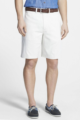 Tommy Bahama Coastal Twill Flat Front Short $98 thestylecure.com
