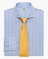 Brooks Brothers (ブルックス ブラザーズ) - ノンアイロン ブロード ボールドストライプ ドレスシャツ Milano Fit