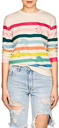 Mira Mikati Women's Rainbow-Striped T-Shirt
