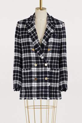 Thom Browne Tartan wool jacket