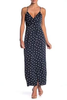 Bardot Spotty Wrap Maxi Dress
