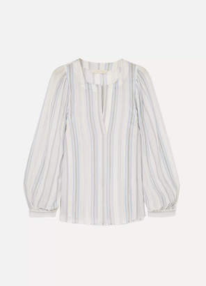 Vanessa Bruno Leni Striped Cotton-gauze Blouse
