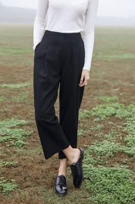Genuine People Wool Crop Pants