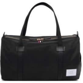Thom Browne Leather Duffel Bag