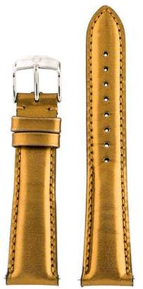Michele 20mm Leather Watch Strap