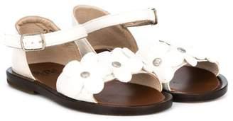 Pépé flower detail buckled sandals