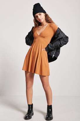 Forever 21 Ribbed Skater Dress