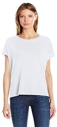Vince Women's Stacked Hem Boy Tee