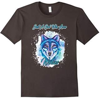 Just A Girl Who Loves Wolves Tee Shirt