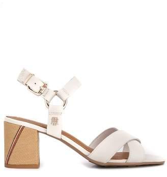 a42d3621b37 Tommy Hilfiger Block Heel Women s Sandals - ShopStyle