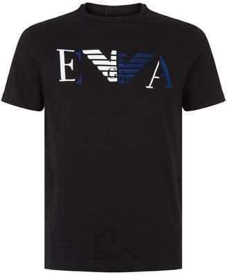 Emporio Armani Mixed Logo T-Shirt