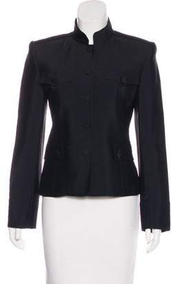 Marc Jacobs Structured Silk Jacket