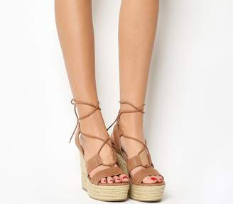 At House Of Fraser Office Hula Ghillie Espadrille Wedges