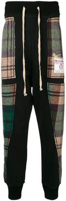 Vivienne Westwood patchwork track trousers