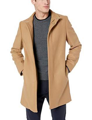Theory Men's Belvin Stand Collar Overcoat