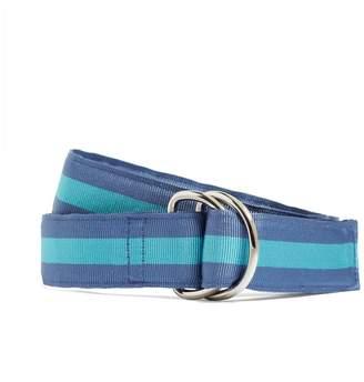 Brooks Brothers Stripe Ribbon Belt
