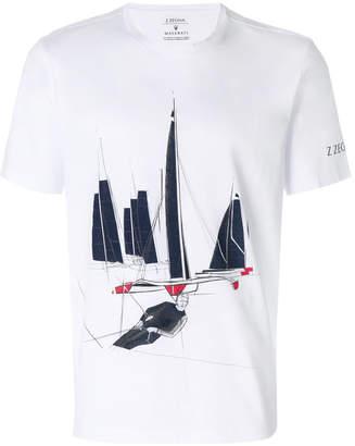 Z Zegna Boat print T-shirt
