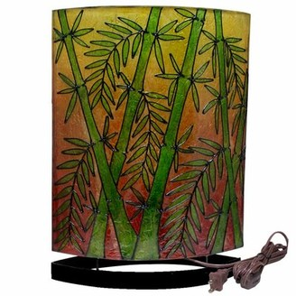 Bay Isle Home Kaitlyn Handcrafted Sunset Bamboo Table Lamp Base Bay Isle Home