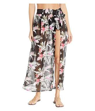 Tommy Bahama Gingerflower Tie Sarong Skirt