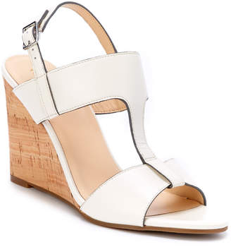Cole Haan Adrienne Leather Wedge Sandal