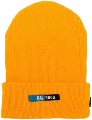 Undercover front patch beanie hat