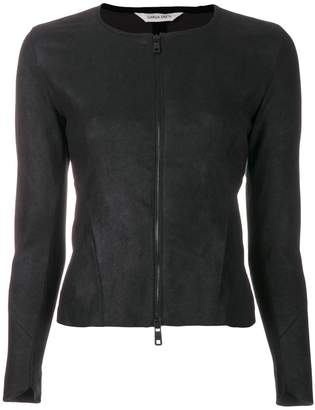 Giorgio Brato zipped fitted jacket