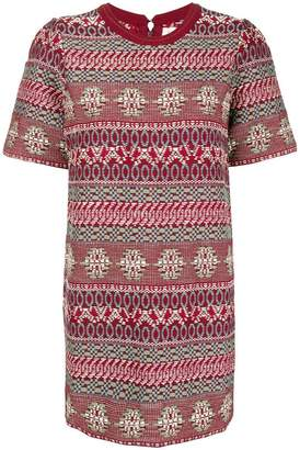 DAY Birger et Mikkelsen Miahatami jacquard T-shirt dress