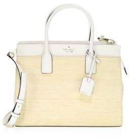 Kate Spade Cameron Street Straw Candace Satchel