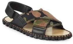 Valentino Guitar Strap Slingback Sandals