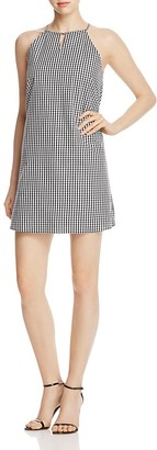 Finn & Grace Gingham Print Shift Dress - 100% Exclusive $88 thestylecure.com