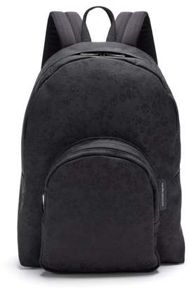 Alexander McQueen Skull Jacquard Backpack - Mens - Black
