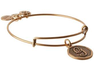 Alex and Ani Initial G Charm Bangle Bracelet