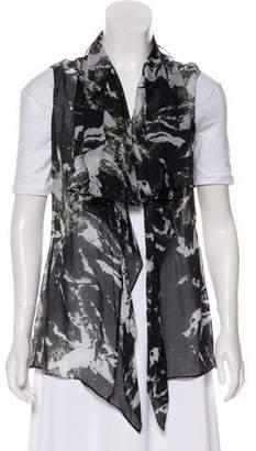 Balenciaga Silk Printed Vest