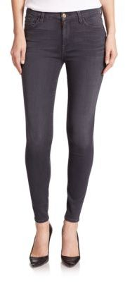 7 For All Mankind The High Waist Ankle Skinny Jeans $189 thestylecure.com