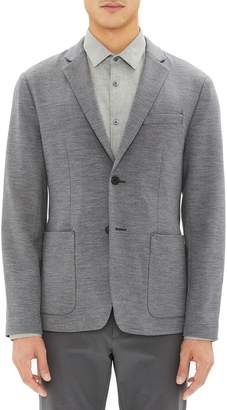 Theory Clinton Wool Interlock Sport Coat
