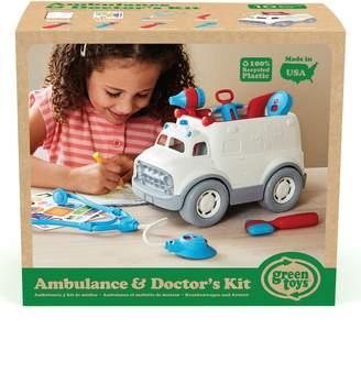 Green Toys Ambulance & Doctor's Kit Play Set