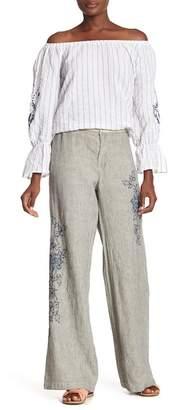 XCVI Kinsley Wide Leg Linen Pants
