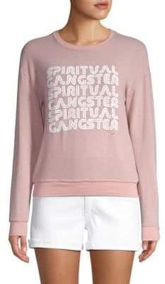 Spiritual Gangster Retro Logo Sweatshirt