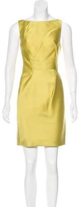 J. Mendel Satin Open Back Dress w/ Tags