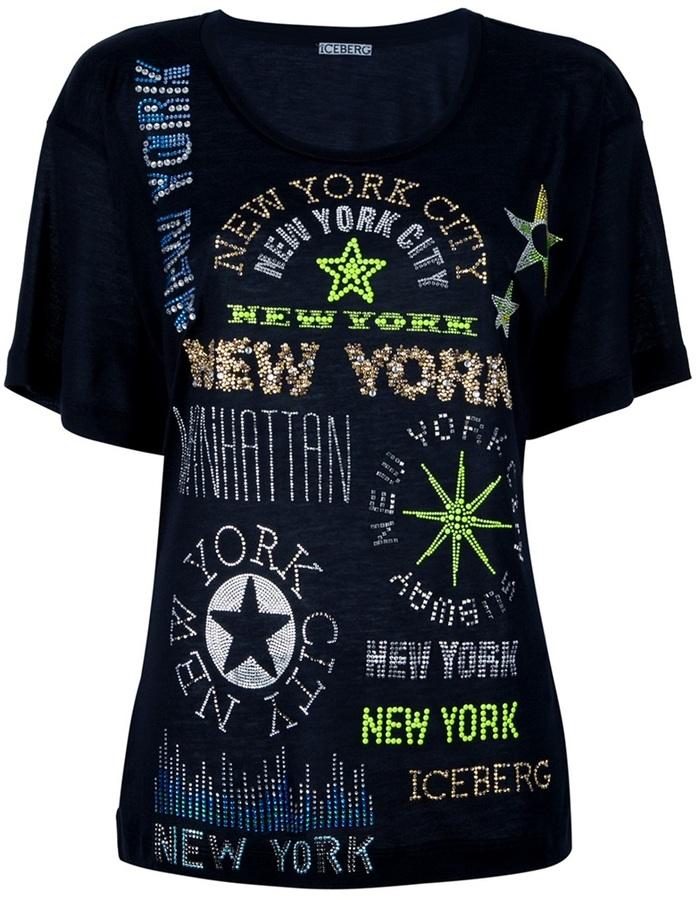 Iceberg studded t-shirt