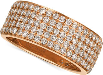 LeVian Le Vian Strawberry & NudeTM Diamond Band (1-7/8 ct. t.w.) in 14k Gold or Rose Gold