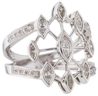 Ring 14K Ornate Diamond
