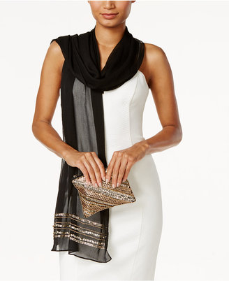 Vince Camuto Embellished Evening Wrap and Clutch $50 thestylecure.com