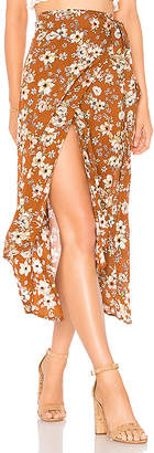 Faithfull The Brand Caribe Wrap Skirt