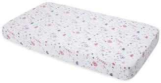 Little Unicorn Fairy Garden Cotton Muslin Crib Sheet