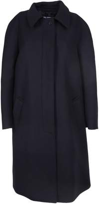 Prada Fur Plain Chester Coat