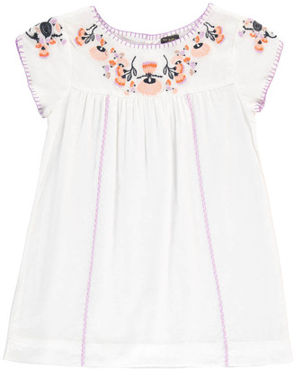 VELVETEEN Sofia Floral Embroidered Dress $139.20 thestylecure.com