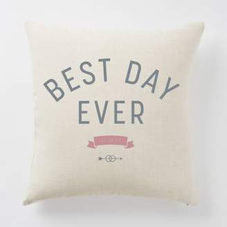 west elm Happily Ever After Pillow Covers - Best Day Ever