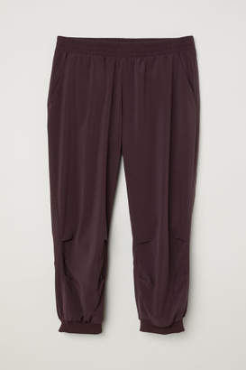 H&M 3/4-length Sports Pants - Purple